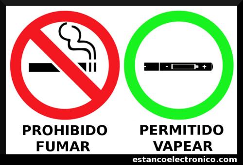 Cartel permitido vapear for Se puede fumar en piscinas